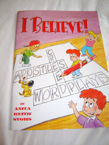 Believe! Thai Language Childrens Activity book for Sunday School / Word Plays