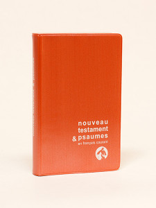 French New Testament and Psalms Pocket Size Brown Cover / Nouveau Testament & Psaumes en Francais Courant