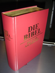 German Family Bible / Large Size German Bible / Die Bibel - Die Gute Nachricht