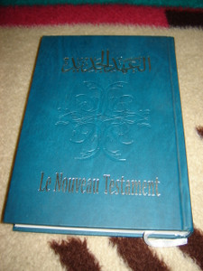 Arabic - French New Testament Large Format / Le Nouveau Testament Arabe - Francais