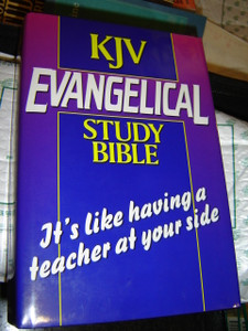 KJV Evangelical Study Bible / It's like having a teacher at your side