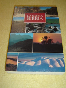 La Sacra Bibbia / Bible in Italian Language / La nuova Diodati / Holy Land Landscape design