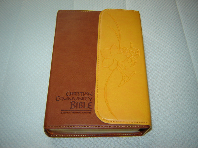 leather bible - The Catholic Company