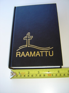 RAAMATTU / Finnish Bible with Double Cross Design / Pyha Raamattu