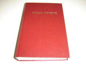 Biblia Polska - Pismo Swiete / The Holy Bible in Polish Language Burgundy Hardcover