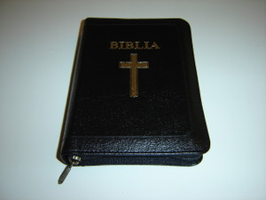 Romanian Leather-bound Bible with References / Biblia sau Sfanta Scriptura - Cu Trimiteri Editie Revizuita