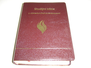 Czech Language Study Bible / Studijni Bible s Vykladovymi Poznamkami