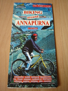 Biking Around Annapurna / Scale 1:75 000 / The Eagle's Loop by NEPA Maps