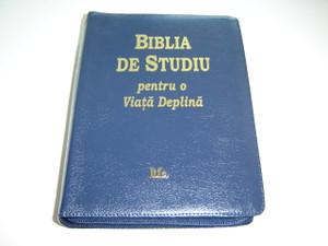 The Full Life Study Bible in Romanian Language / Biblia De Studiu pentru o Viata Deplina / Versiunea D. Cornilescu
