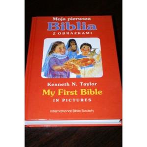 Polish Children's Bible / Moja Pierwsza Biblia Z Obrazkami [Hardcover]
