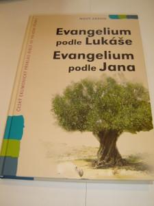 Czech Bible Portion Super Large Print / The Gospel of Luke and The Gospel of John / Evangelium Podle Lukase and Jana