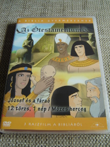 The Old Testament 5 / Three Episodes x 25 minutes / Az Otestamentum 5 / Il Vecchio Testamento / 1. Joseph and the Pharaoh  2. 12 Tribe, 1 Nation 3. Prince Moses