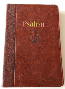 Psalmi / Psalms in Croatian language / Lectio Divina and introduction to the Book of Psalms / Brown, Leather Bound / Golden Edges / I. Saric / Verbum 2009 (9789532351798)