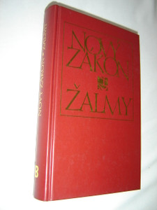 Czech New Testament and Psalms / Burgundy Hardcover / Large Print / Czech Ecumenical Translation / Novy Zakon Zalmy - Cesky ekumenicky preklad