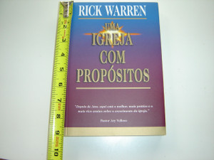 Igreja com Propósitos, Uma - Purpose Driven Church by Rick Warren / Portuguese Language Edition