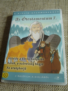 The Old Testament 7 / Three Episodes x 25 minutes / Az Otestamentum 7 / Il Vecchio Testamento / 1. Crossing the Red Sea 2. Covenant at Mount Horeb 3. The Golden Calf