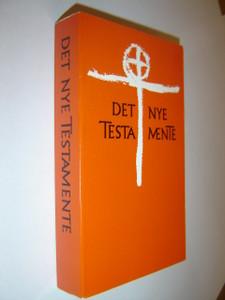 Danish Language New Testament / DET NYE TESTAMENTE / Med Emne- Og Citatregister Og Stikordsregister