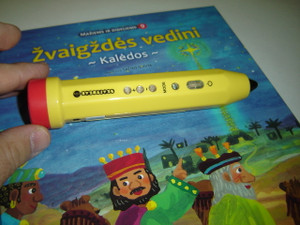 "Reading and Talking Pen to the Lithuanian Children's Bible Series - Touch and Read / Serija ""Maziems ir dideliems"""