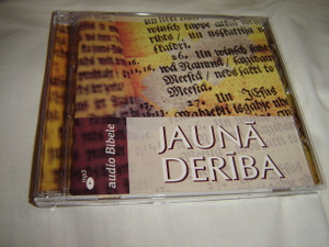Latvian Audio New Testament on 2 MP3 CD's / Jauna Deriba