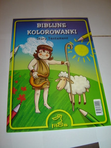 Polish Children's Coloring Pad / Old Testament Themes / Biblijne Kolorowanki Stary Testament