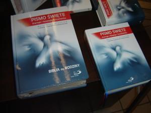 Polish Study Bible / Family Bible / Large Print and Large Size / Pismo Swiete Starego I Nowego Testamentu