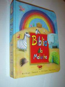 Polish Children's Bible for 2-4 Year Olds / Biblia dla Malucha / Berthan James i Yorgos Sgouros