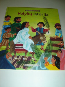 Lithuanian Children's Bible Series - Book 12 - Last Week of Jesus' Life / Veluku Istorija