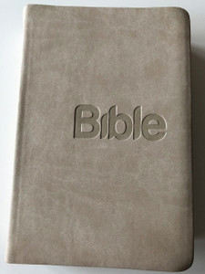 Czech Bible Light Gray Imitation Leather Cover / New Translation / Bible Cesky Preklad 21. stoleti