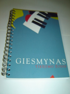 The Lithuanian Hymnal - Giesmynas Tikejimo Zodis / Lithuanian Christian Songbook