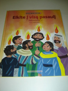 Lithuanian Children's Bible Series - Book 26 - The Acts of the Apostles / Eikite je visa pasaulj - Sekmines