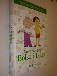 Polish Children's Book about Lolek and Bolek / Nowe przygody Bolka i Lolka / Ilustracje Mobile Wings