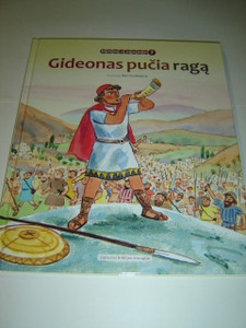 Lithuanian Children's Bible Series - Book 7 - Gideon's Story / Gideonas pucia raga