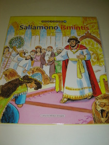 Lithuanian Children's Bible Series - Book 34 - The Wisdom of Solomon / Saliamono Ismintis