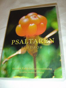 The Book of Psalms in Swedish Language / MP3 CD / Psaltaren - Ljudbok / Psalm 1-150