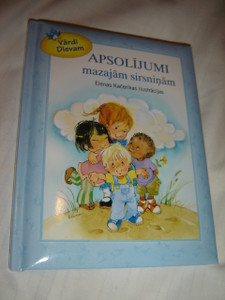 Latvian Children's Bible For Little Ones / Promises for Little Hearts / Apsolijumi Mazajam Sirsninam