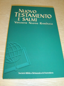 Italian Pocket New Testament and Psalms Special Edition / Nuovo Testamento E Salmi Versione Nuova Rivebuta SBBF