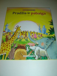 Lithuanian Children's Bible Series - Book 36 - The Beginning and The End / Pradzia ir Pabaiga