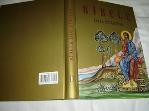 The Greek Orthodox Children's Bible in Latvian Language / Bibele isos stastos