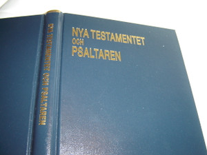 Swedish Large Print New Testament and Psalms / Nya Testamentet och Psaltaren