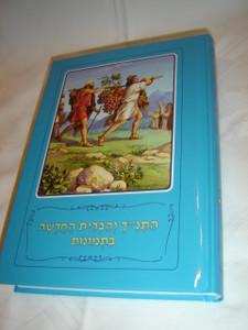 Hebrew Children's Bible / Bible Stories with Pictures / Borislav Arapovic and Vera Mattelmaki / 520 Full Color Pages
