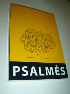 Super Large Print Psalms in  Lithuanian Language LBD / Psalmes Silpnaregiams