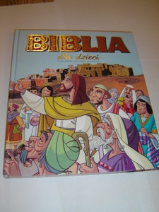 Large Children's Bible in Polish Language / Biblia Dla Dziec / Adoptacija: Jose Moran / Biblia Infantil