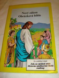Czech Comic Strip Picture New Testament / Nový Zákon  Obrázková Bible