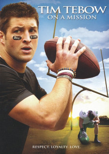 Tim Tebow: On a Mission DVD (2012) / His Leadership and Christian Values Set an Example ... For All Young People / Respect. Loyalty. Love