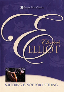Suffering Is Not For Nothing - Elisabeth Elliot DVD (2011) This DVD contains six messages loaded with solid Biblical wisdom and encouragement.