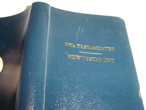 Swedish - English NKJV Bilingual New Testament / Nya Testamentet Biblekommissionens oversattning 2000