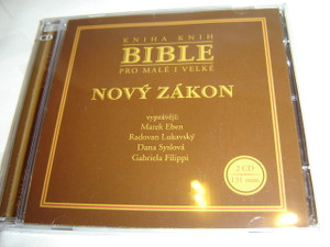 Czech Language Audio Bible for Young and Old - New Testament ( 2 CD ) / Kniha Knih Bible pro male i velke - Novy zakon