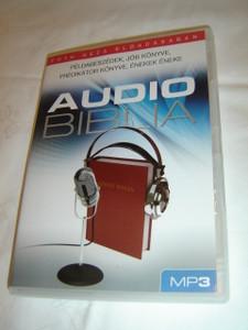 Audio Biblia Tóth Géza Eloadásában MP3 / Hungarian Audio Bible on MP3 CD/ Példabeszédek, Jób könyve, Prédikátor könyve, Énekek Éneke