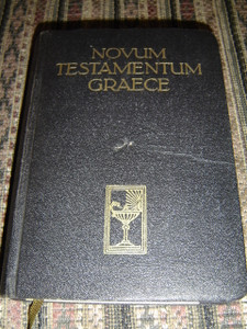 Novum Testamentum Graece - Greek New Testament (Printed in Germany) / 1950 Print
