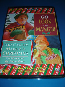 Go Look in the Manger / The Candy Maker's Christmas (DVD)